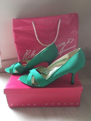12 Zapatos Segunda En Pilar € De Burgos Voymnn0p8w Por Fiesta Mano E9DH2I