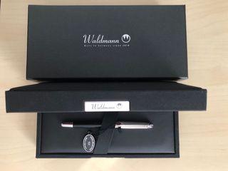 Estilográfica Waldmann 925 Pocket de plata