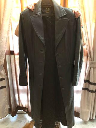 Abrigo de piel de ming