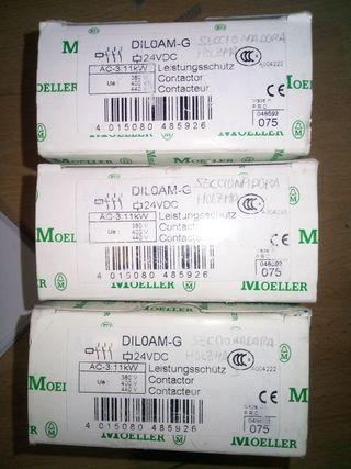 Contactor dil0m-g 24vdc moeller