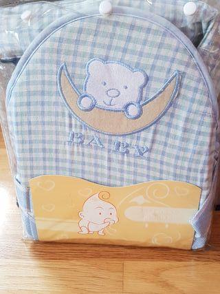 mochila portabebés de verano
