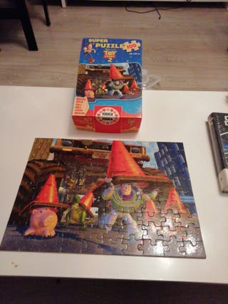 puzzle madera Toy story 2