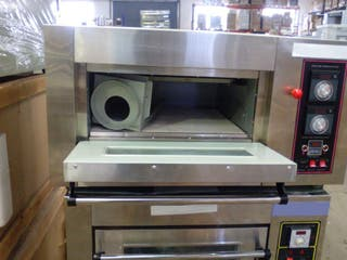 Horno para 4 pizzas de 25 cm gas