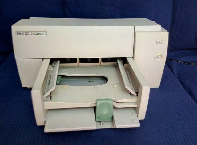 Impresora HP 670C