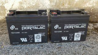 hola vendo par de baterías 70%