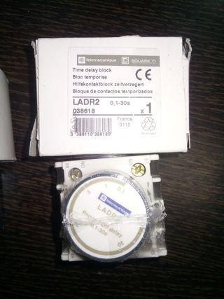 Temporizador contactor telemecanique