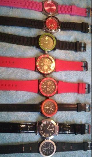 LOTE 8 relojes.
