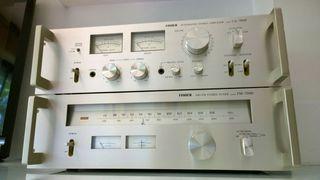 Amplificador Fisher CA-7000 + Sintonizador FM-7000