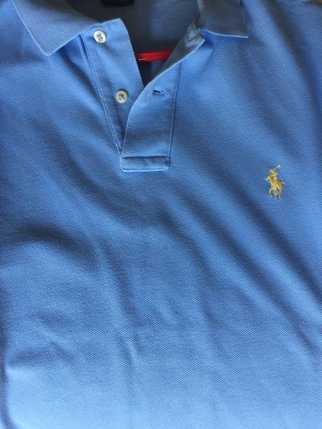 Polo azul Ralph Lauren