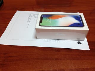 APPLE IPHONE X 64 GYGAS GRIS NUEVO
