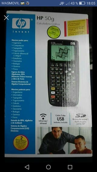 Calculadora gráfica HP50g