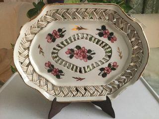 Bandeja en cerámica valenciana
