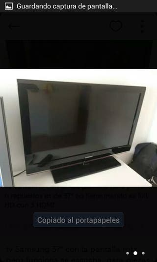 "televisor Samsung 37 """