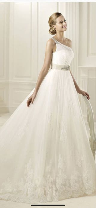 Precio de un vestido de novia pronovias