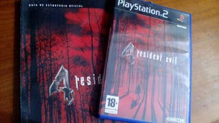Resident Evil 4 (PS2) + Guía Oficial