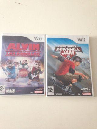 Juegos Wii nuevos