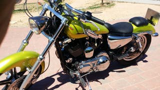 sporster 1200 unica cambio por maxi scooter