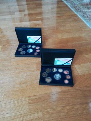 colección especial de euros de 2002 y 2003