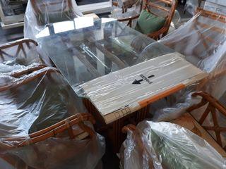 mesa comedor para terraza cubierta o exterior