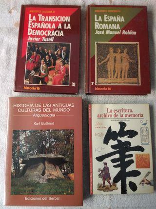 Libros universidad historia