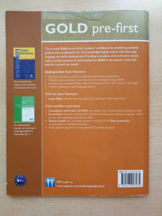 Libro Inglés pre-first