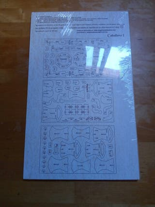 puzzle caballero madera 3d