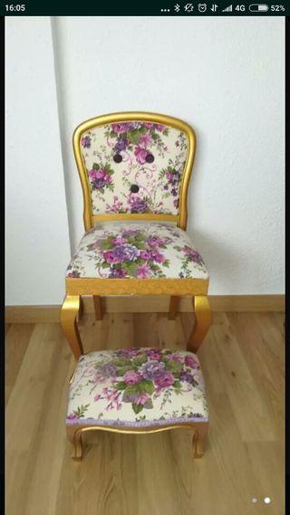 silla + descalzador