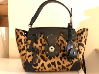 Ralph Lauren Mini Ricky Leather Bag