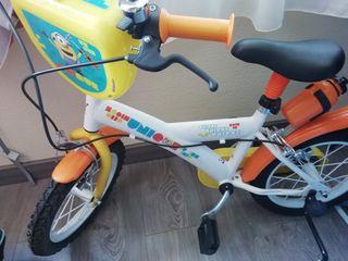 bicicleta nueva.