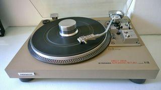 Pioneer PL-518 Plato Tocadiscos Vintage