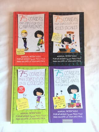 Colección libros 75 consejos