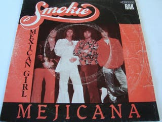 "SMOKIE-.MEXICAN GIRL-SINGLE VINILO 7""."
