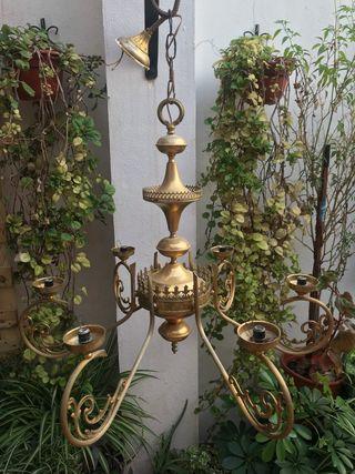 Lámpara araña vintage