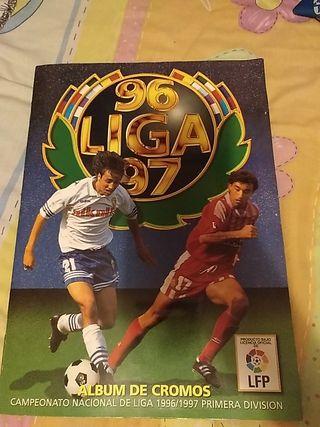 album cromos liga 1996 1997