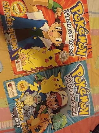album cromos pokemon