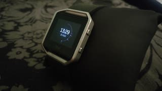 Fitbit blaze smartwatch - size L
