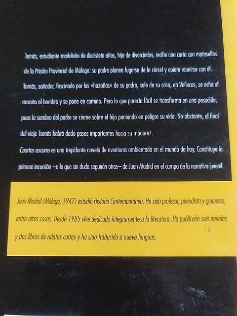 Cuartos oscuros de segunda mano por 3 € en Madrid en WALLAPOP