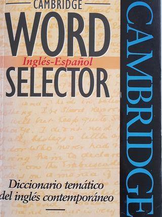 Word Selector Inglés-Español.