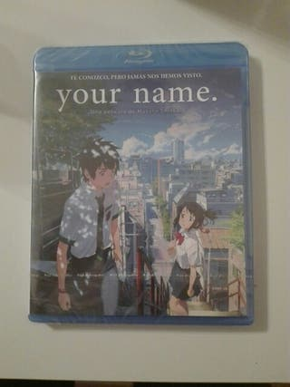 "Película ""Your Name"" Blu-ray"