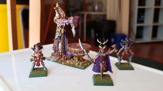 elfos oscuros warhammer