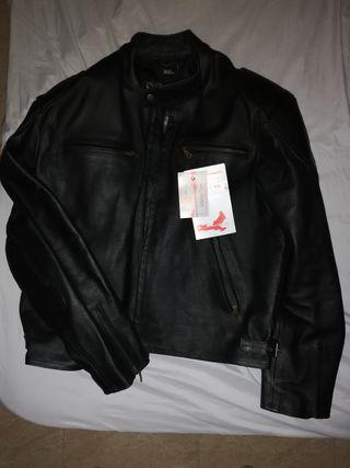 chaqueta moto piel xxxl