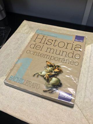 Historia del mundo contemporáneo.