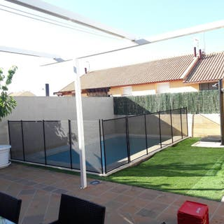 Valla piscina de segunda mano en wallapop for Piscinas desmontables segunda mano
