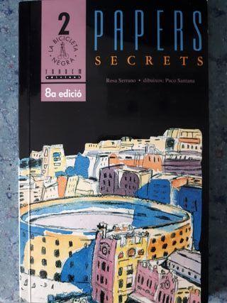 Lectura escolar ESO. Papers Secrets