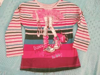 camiseta niña Mayoral