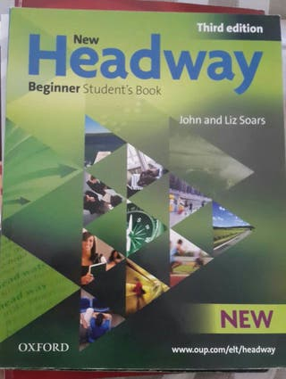 libro de inglés + worbook: headway