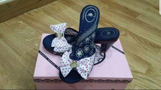 Zapatos Mujer marca Fornalina T.38