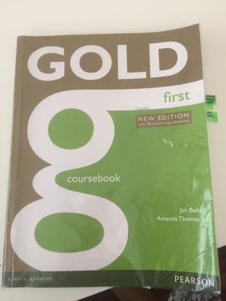 Gold first course book 9781447907145