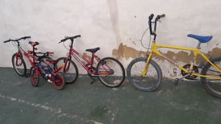 lote de bicis funcionan todas
