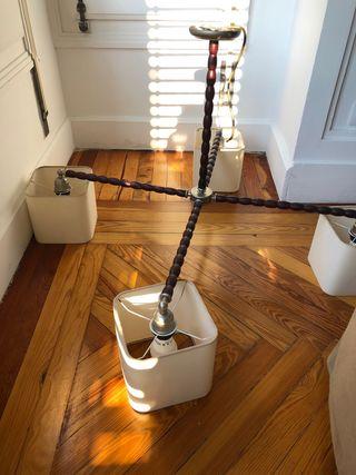 Aparato d luz de cuatro brazos de diseño